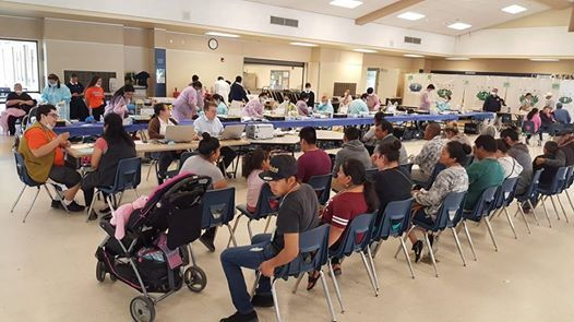 Tzuchi Med Outreach Bakersfields Ca At Golden Valley High School