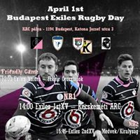 April 1st - Budapest Rugby Day