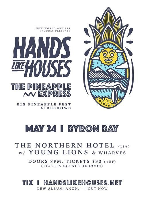 Hands Like Houses in Byron Bay