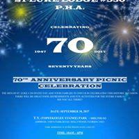 70 Year Anniversary Picnic Celebration