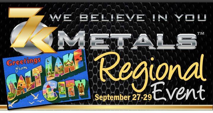 Free WEALTH STRATEGIES Training 7k Metals Regional Event SALT LAKE CITY