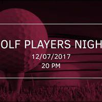 Golf Players Night