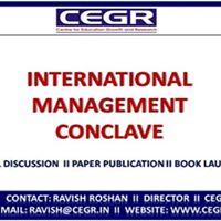 International Management Conclave