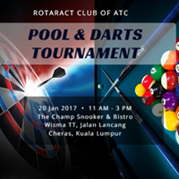 Pool &amp Darts Tournament