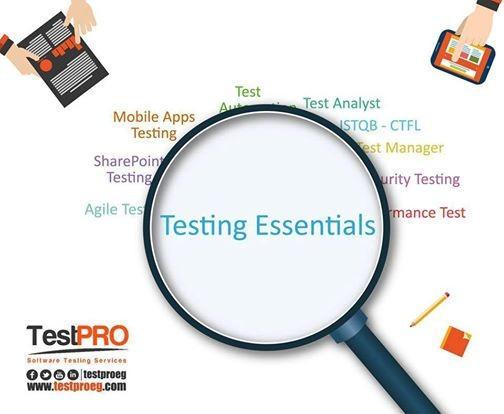 Testing Essentials Training