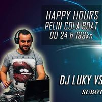 Happy Hours  DJ Luky &amp DJ Crazy Smash Club Varadin