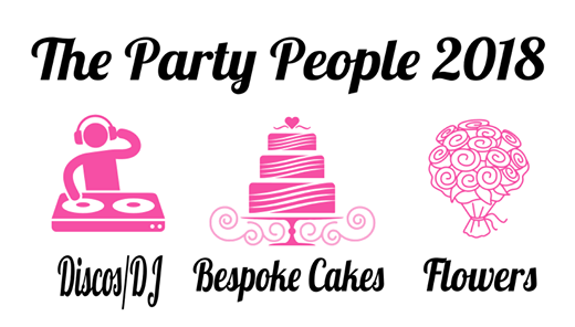 The Party People 2018 Pop-up shop HSBC in Hight Street Exeter