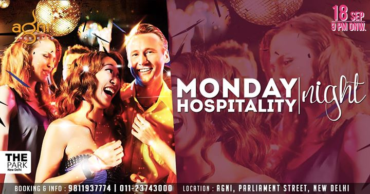 Monday Hospitality Night at Agni