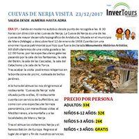 Visita cuevas de Nerja