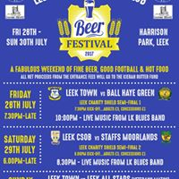 Leek Charity Shield &amp Beer Festival