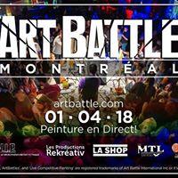 Art Battle Montral - Jan 4 2018
