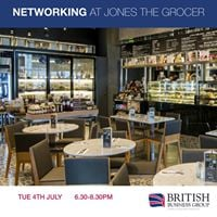 Networking at Jones the Grocer