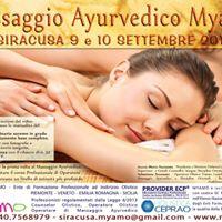 Corso Massaggio Ayurvedico Myamo