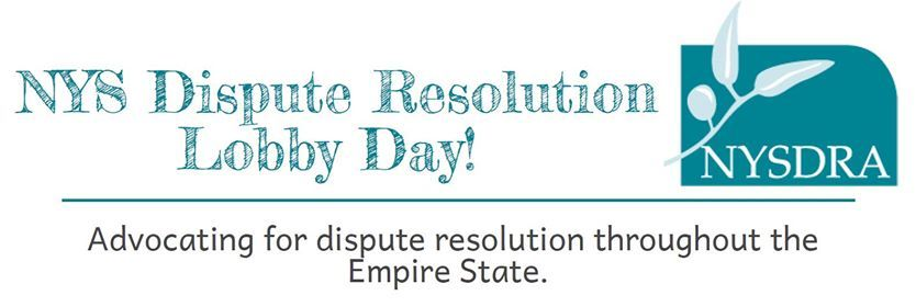 NYS Dispute Resolution Lobby Day