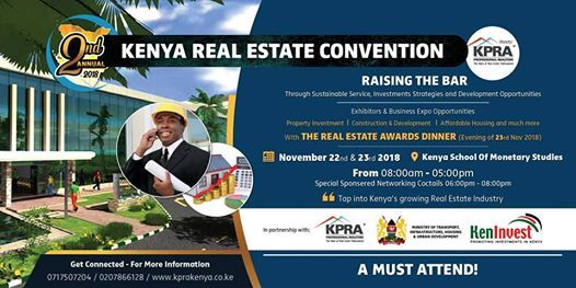 2nd ANNUAL KENYA REAL ESTATE CONVENTION