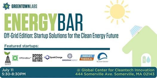 EnergyBar Off-Grid Edition: Startup Solutions for the Clean