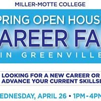 Spring Open House &amp Career Fair in Greenville
