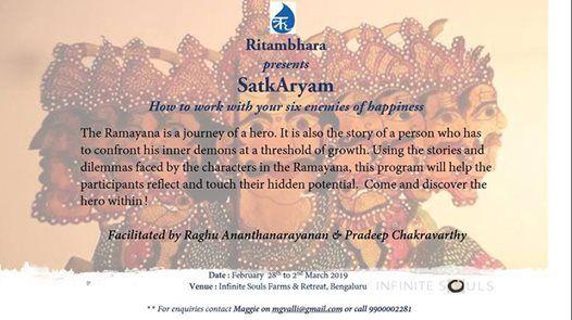 SatkAryam - Ramayana Immersion