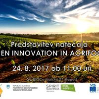 Predstavitev nateaja za podjetniko idejo v agroivilstvu