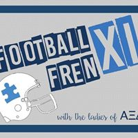 Football Frenxi with the Ladies of Alpha Xi Delta