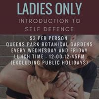 Ladies Only Community Self Defence Program