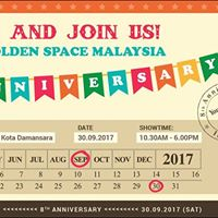 The Golden Space (Malaysia) 8th Anniversary