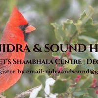 Yoga Nidra &amp Sound Healing SMB Shambhala