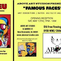 Iconic FLEU Series Art Exhibit at Above Art Studios