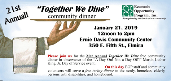 Together We Dine Community Dinner