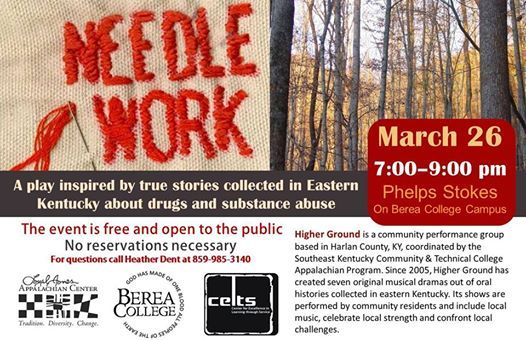 Needlework A play Inspired by Eastern Kentucky Stories