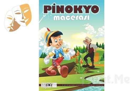 Pinokyo Maceras Mzikli ocuk Tiyatro Oyun Bileti 34 TL Yerine