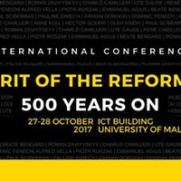 The Spirit of the Reformation 500 Years On
