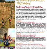 Trekking e yoga nel territorio di Montecatini Val di Cecina