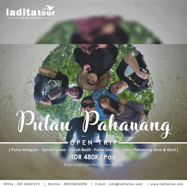 OPEN TRIP Pulau Pahawang Lampung 24 - 26 Agustus 2018 - Ladita Tour Jakarta