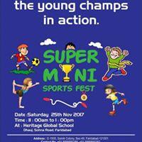 Super mini Sports Fest