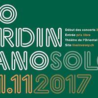 Lo Tardin piano solo  Live in Vevey