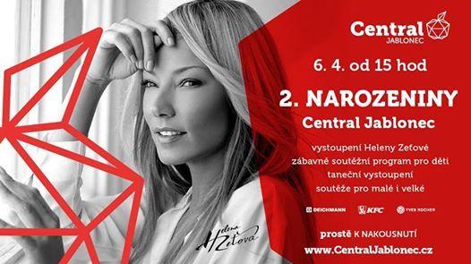 9c25cd8f50 Slavíme 2. narozeniny! at Central Jablonec