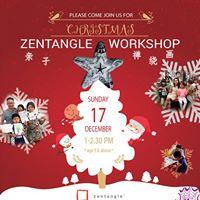 171217 Christmas Zentangle Workshop