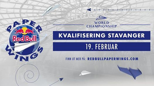 Red Bull Paper Wings 2019  Kvalifisering Stavanger Norge