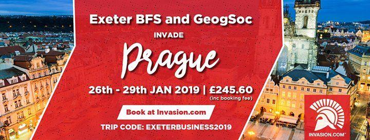 BFS Invades Prague with GeogSoc