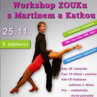 Workshop Brazilskho Zouku