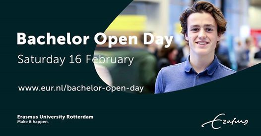 Bachelor Open Day - Saturday 16 February