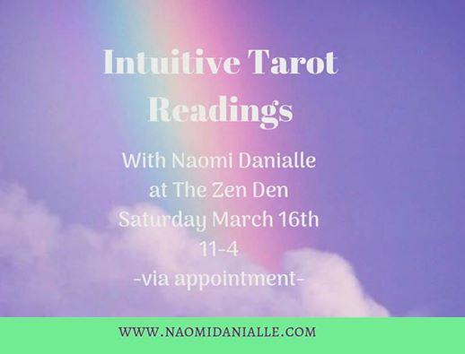 Intuitive Tarot Readings at The Zen Den, Kelowna