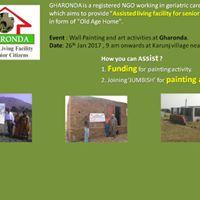 Fund Raising - Gharonda NGO Painting