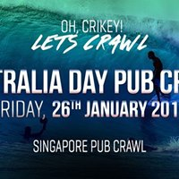 Singapore Pub Crawl - Australia Day