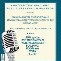 KhateebPublic Speaking Workshop Cork