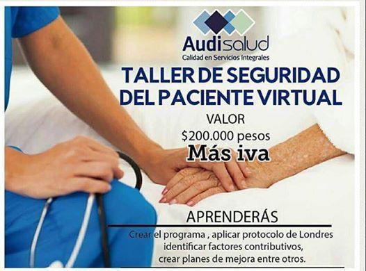 Taller de seguridad del paciente virtual