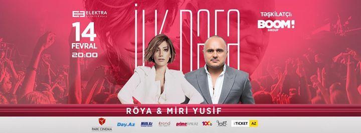 Roya Miri Yusif Ilk Dəfə Konsert At Elektra Events Hallnational