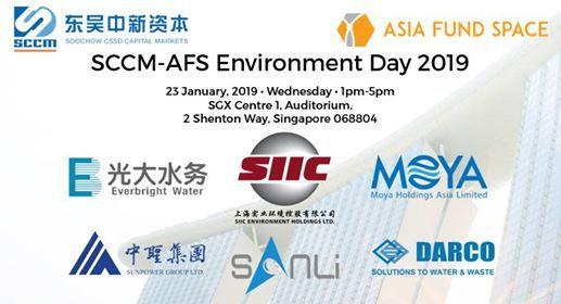 Sccm-Afs Environment Day 2019@sgx Auditorium at SGX Centre2 Shenton