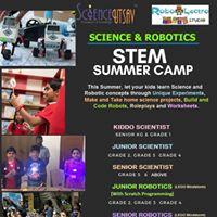 Science &amp Robotics Summer Camp